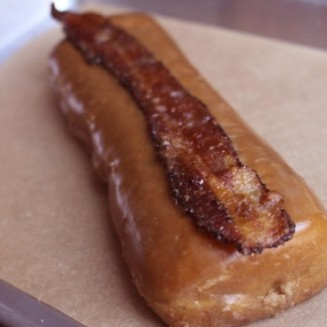 Maple bacon long john from Glazed and Infused